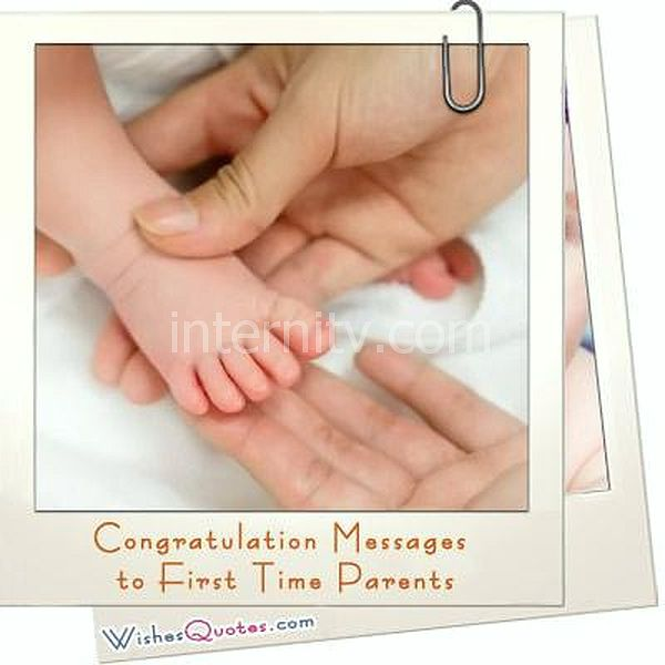 Congratulation Messages to First Time Parents