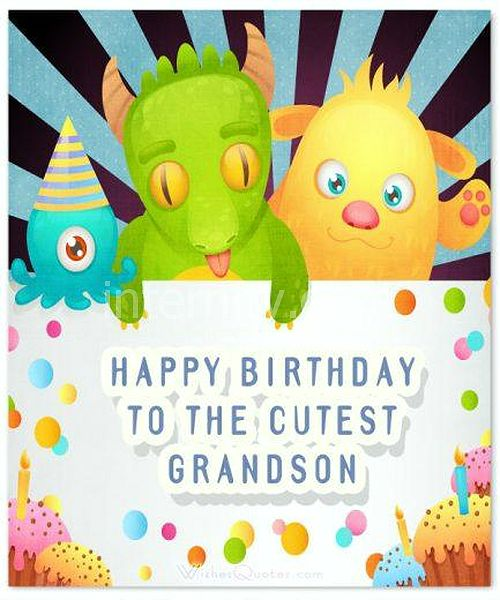 Happy Birthday to the cutest grandson