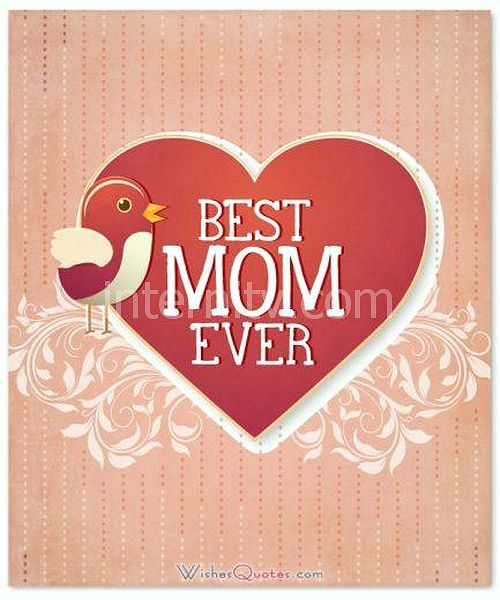 Best Mom Ever for Mother