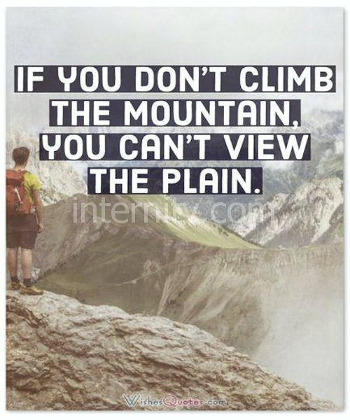 Climb The Mountain